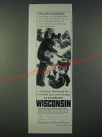 1959 Wisconsin Conservation Dept. Ad - Do you remember