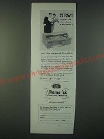 1959 3M Thermo-Fax Secretary Copying Machine Ad - Copies in 4 Seconds