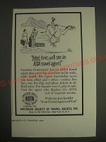 1959 ASTA American Society of Travel Agents Ad - Next time, we'll see