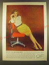 1963 GF General Fireproofing Goodform Secretarial Chair Ad - Office Break