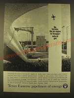 1963 Texas Eastern Transmission Corporation Ad - We harness the jet engine