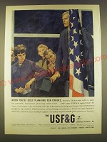 1963 USF&G Insurance Ad - When you're busy planning for others