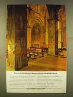 1963 Israel Government Tourist Office Ad - Richard the lionhearted