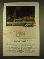 1963 Chevrolet Impala Sport Sedan Ad - 63 Jet-Smooth Chevrolet keeps going great