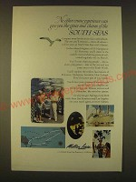 1963 Matson Lines Cruise Ad - No other cruise experience can give you
