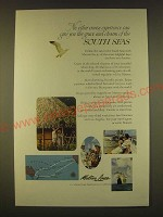 1963 Matson Lines Cruise Ad - give you the grace and charm