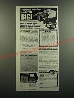 1986 Foley Belsaw planer-Molder-Saw Ad - Workshop can pay-off