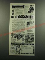 1986 Foley Belsaw Institute Locksmithing Ad - Be a Locksmith