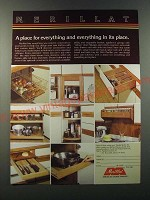 1986 Merillat Cabinets Ad - A place for everything and everything in its place