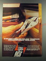 1986 Vise-Grip 7R Locking Pliers Ad - If you don't think
