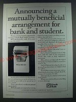 1986 Lloyds Bank Ad - Announcing a mutually beneficial arrangement