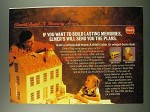 1986 Borden Elmer's Carpenter's Wood Glue and Filler Ad - Memories