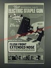 1986 Arrow Electro-Matic ETN-50 Electric Staple Gun Ad