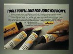 1986 Wagner Added Touches Repair kits Ad - Tools you'll like for jobs you don't