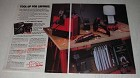 1986 Sears Craftsman Tools Ad - Hobby Worktable, Electripak Drill Tidy