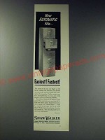 1963 Shaw-Walker File-Master Ad - New automatic file Easiest! Fastest!