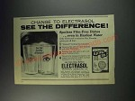 1963 Electrasol Detergent Ad - Change to Electrasol See the difference!