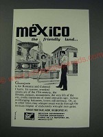 1963 Mexican Government Tourism Department Ad