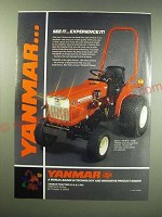 1987 Yanmar YM187D Tractor Ad - See it experience it