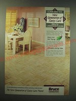 1987 Bruce Hardwood Floors Ad - Come see the new generation