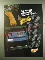 1987 Ryobi AP-10 Portable Planer Ad - The walkaway favorite