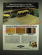 1987 Koppers Wolman Protection Products Ad - It's never too soon or too late