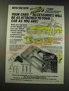 1987 Arrow Xpando T-50XP Staple Gun Attachment Ad - Your cars accessories