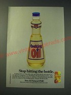 1987 Pam Cooking Spray Ad - Stop hitting the bottle
