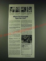 1987 Shopsmith Mark V Tool Ad - Which do-it-yourself type are you?