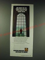 1987 Marvin Windows Ad - We have yet to find two people with quite the same view