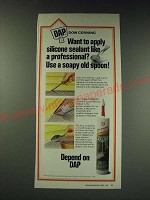 1987 DAP Dow Corning General Purpose Silicone Sealant Ad