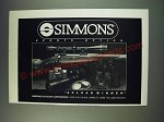 1987 Simmons Sports Optics Ad - Simmons Sports Optics A clear winner
