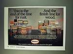 1987 Glidden Rustmaster Primers and Paints, and Woodmaster stains and varnishes