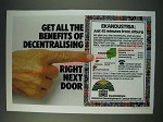 1987 Kwandebele National Development Corporation Ad - Get all the benefits of