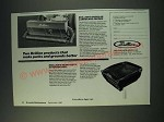 1987 Brillion Landscape Seeder and Outdoor Grill Ad - Two Brillion products
