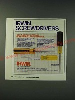 1987 Irwin Big-Grip 500 Series, Easy-Grip 400-Series and Cushion-Grip 100