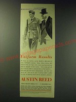 1942 Austin Reed Uniforms Ad - Uniform Results