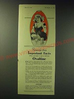 1942 Ovaltine Drink Mix Ad - Remember these important facts when you make a cup