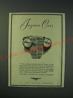 1942 Jaguar Cars Ad - Under ordinary circumstances, I change my car