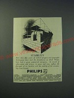 1942 Philips Lamps Ltd Ad - Stability