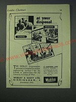 1942 Webley & Scott Ad - at your disposal