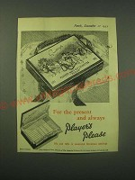 1952 Player's Navy Cut Cigarettes Ad - For the present and always Player's