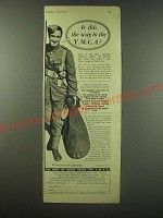 1940 Y.M.C.A. Young Men's Christian Association Ad - Is this the way