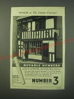 1940 Players Number 3 Cigarettes Ad - Notable Numbers