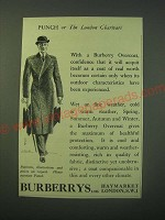 1940 Burberry Overcoat Ad - A Coat of Real Worth