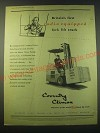 1953 Coventry Fork Lift Truck Ad - Britain's first radio equipped fork lift