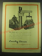 1953 Coventry Fork Lift Truck Ad - Rolls Royce Ltd