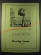1953 Coventry Fork Lift Truck Ad - Taking the necessary Schweppes
