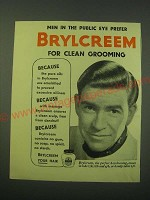 1953 Brylcreem Hair Dressing Ad - Men in the Public Eye Prefer Brylcreem