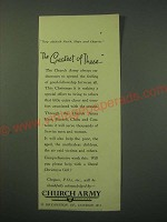 1942 Church Army Ad - The greatest of these
